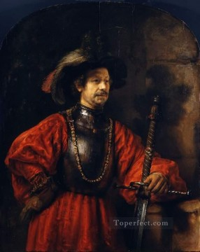 Milit portrait Rembrandt Oil Paintings